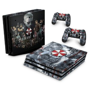PS4 Pro Skin - Resident Evil Umbrella