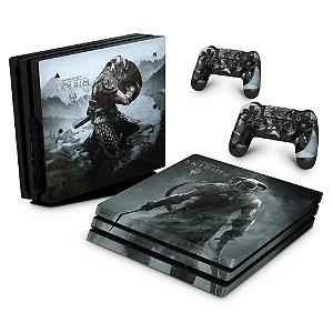 PS4 Pro Skin - Skyrim