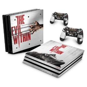 PS4 Pro Skin - The Evil Within