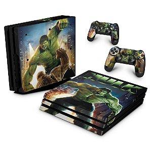 PS4 Pro Skin - Hulk