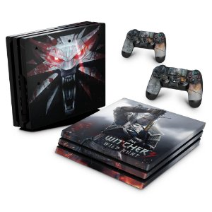 PS4 Pro Skin - The Witcher #A