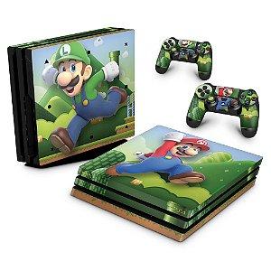 PS4 Pro Skin - Super Mario Bros
