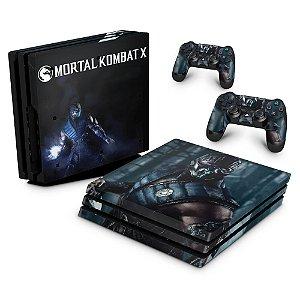 PS4 Pro Skin - Mortal Kombat X - Sub Zero
