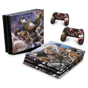 PS4 Pro Skin - Attack On Titan - shingeki no kyojin #A
