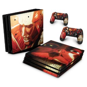 PS4 Pro Skin - Attack On Titan - shingeki no kyojin #B
