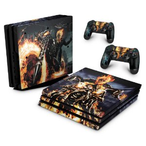 PS4 Pro Skin - Ghost Rider #A