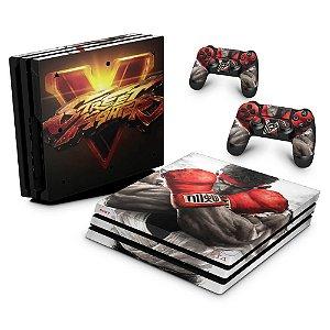 PS4 Pro Skin - Street Fighter V