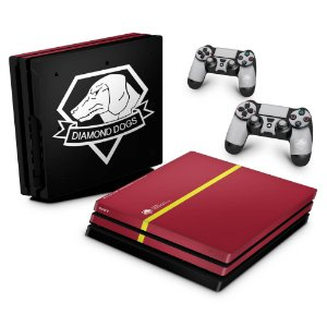 PS4 Pro Skin - The Metal Gear Solid 5 Special Edition