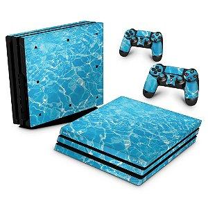 PS4 Pro Skin - Aquático Água