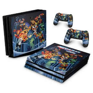 PS4 Pro Skin - Megaman Legacy Collection