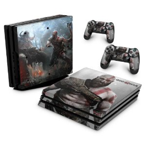 PS4 Pro Skin - God Of War #B