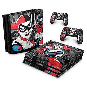 PS4 Pro Skin - Harley Quinn - Arlequina #a