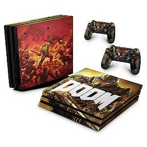 PS4 Pro Skin - Doom