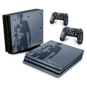 PS4 Pro Skin - Uncharted 4 Limited Edition