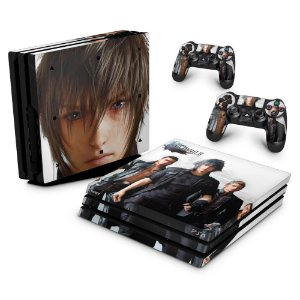 PS4 Pro Skin - Final Fantasy XV #B