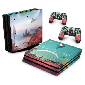PS4 Pro Skin - No Man's Sky