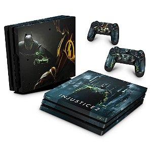 PS4 Pro Skin - Injustice 2