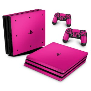 PS4 Pro Skin - Rosa Pink