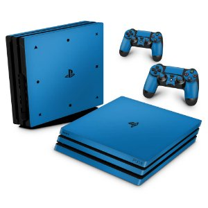 PS4 Pro Skin - Azul Claro