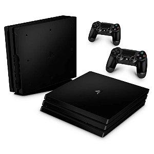 PS4 Pro Skin - Preto Black Piano