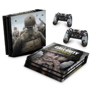 PS4 Pro Skin - Call of Duty WW2