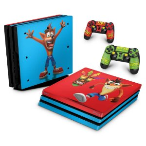 PS4 Pro Skin - Crash Bandicoot
