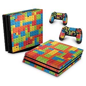 PS4 Pro Skin - Lego peça