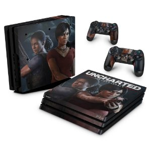 PS4 Pro Skin - Uncharted Lost Legacy