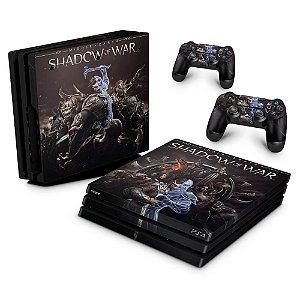 PS4 Pro Skin - Shadow of War