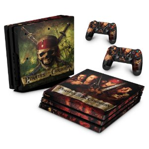 PS4 Pro Skin - Piratas do Caribe
