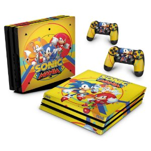PS4 Pro Skin - Sonic Mania
