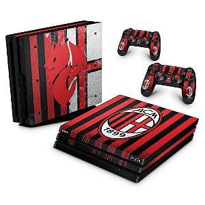 PS4 Pro Skin - AC Milan