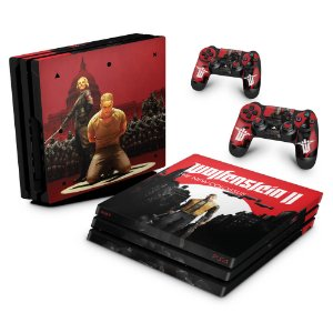 PS4 Pro Skin - Wolfenstein 2 New Order