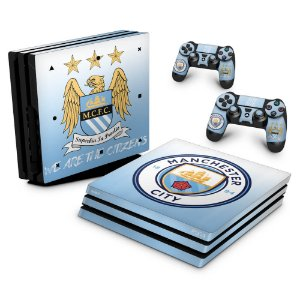 PS4 Pro Skin - Manchester City FC