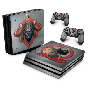 PS4 Pro Skin - God of War 4