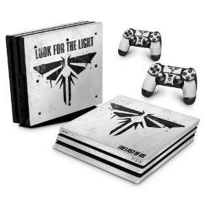 PS4 Pro Skin - The Last Of Us Firefly