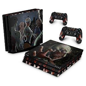 PS4 Pro Skin - Zombie Zumbi The Walking