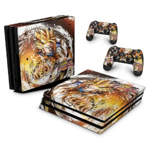 PS4 Pro Skin - Dragon Ball FighterZ