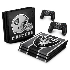 PS4 Pro Skin - Oakland Raiders NFL