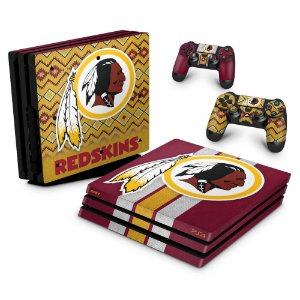 PS4 Pro Skin - Washington Redskins NFL