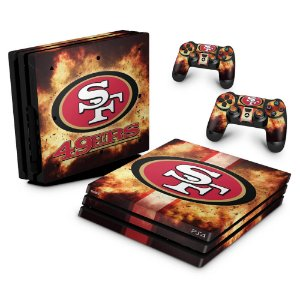 PS4 Pro Skin - San Francisco 49ers - NFL