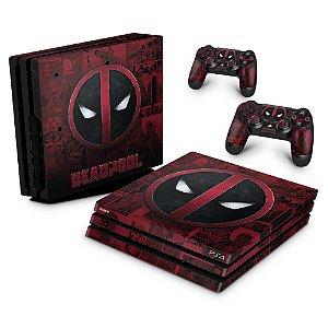 PS4 Pro Skin - Deadpool Comics