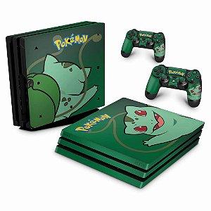 PS4 Pro Skin - Pokemon Bulbasaur