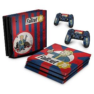PS4 Pro Skin - Fallout 76
