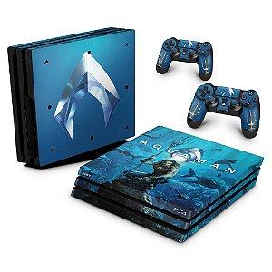 PS4 Pro Skin - Aquaman