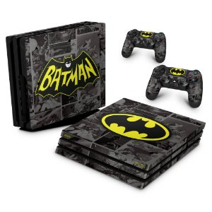 PS4 Pro Skin - Batman Comics