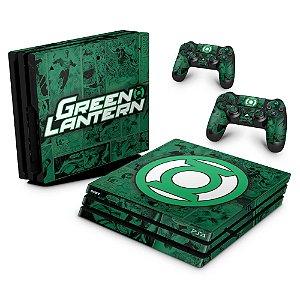 PS4 Pro Skin - Lanterna Verde Comics