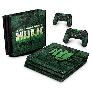 PS4 Pro Skin - Hulk Comics