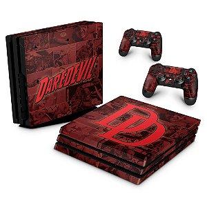 PS4 Pro Skin - Daredevil Demolidor Comics