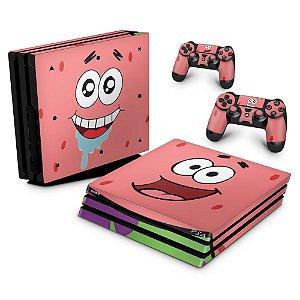 PS4 Pro Skin - Patrick Bob Esponja
